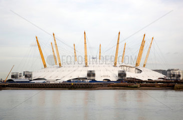 London  Grossbritannien  The O2  Veranstaltungshalle und Konzerthalle