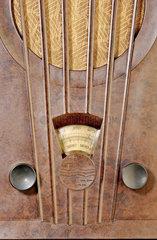 Philips Designradio 1933  Detail