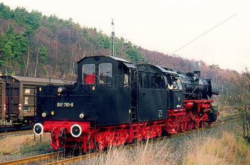 Stolberg  BRD  die 050 761 beim Dampflokabschiedsfest in Stolberg