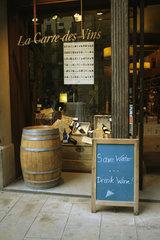 Weinladen in Barcelona