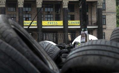 Maidan Press Center in Kiew