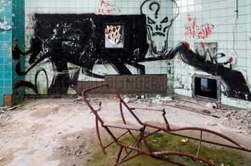 Beelitz-Heilstaetten  Deutschland  ein alter Operationssaal des ehemaligen Sanatoriums Beelitz-Heilstaetten
