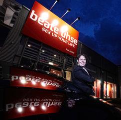Hamburg  Deutschland  Serge van der Hooft  CEO der Beate Uhse AG