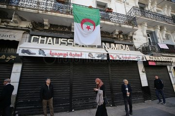 ALGERIA-ALGIERS-STRIKE