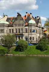 Breslau  Polen  das Generalkonsulat der Bundesrepublik Deutschland an der Ulica Podwale