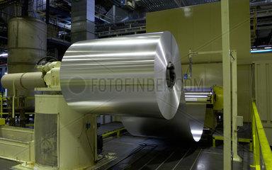Hermsdorf  Deutschland  in der Produktionshalle der Ball Packaging Europe GmbH