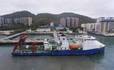 CHINA-HAINAN-SANYA-MANNED SUBMERSIBLE-RETURN (CN)