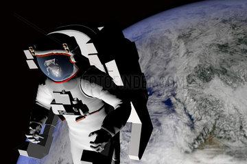 Symbolbild: Astronaut