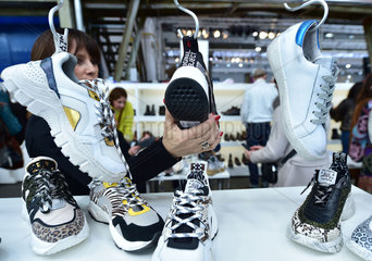GERMANY-DUSSELDORF-TRADE SHOW-GALLERY SHOES