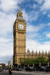 London  Grossbritannien  Uhrturm des Palace of Westminster  Big Ben