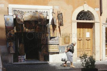 Alltag und Devotionalien in Rom