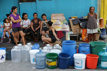 PHILIPPINES-MANDALUYONG CITY-WATER SHORTAGE