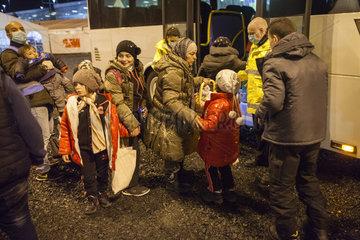 Fluechtlingsverteilung in Koeln
