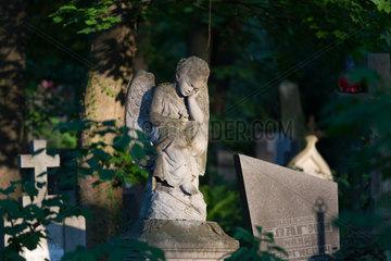 Lemberg  Ukraine  ukrainisches Grab auf dem Lytschakiwski-Friedhof