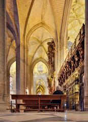 Sevilla  Spanien  die Kathedrale Santa Maria de la Sede