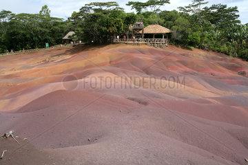 Chamarel  Mauritius  Naturdenkmal 7-farbige Erde