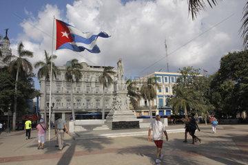 Parque Central in Havanna