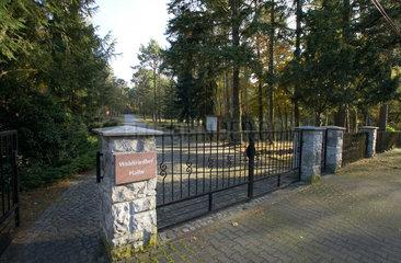 Halbe  Deutschland  Haupteingang zum Waldfriedhof