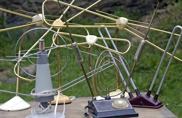 Antennenwald  alte Fernsehantennen  1950er - 1970er Jahre