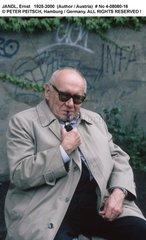 JANDL  Ernst - Portrait des Schriftstellers