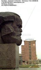 Karl Marx Denkmal in Chemnitz