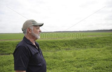 U.S.-LOUISIANA-FARMER-BUSINESS