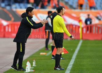 (SP)CHINA-JINAN-AFC CHAMPIONS LEAGUE-GROUP E(CN)