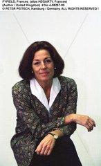 FYFIELD  Frances (alias HEGARTY  Frances) - Portrait der Schriftstellerin
