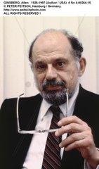 GINSBERG  Allen - Portrait des Schriftstellers