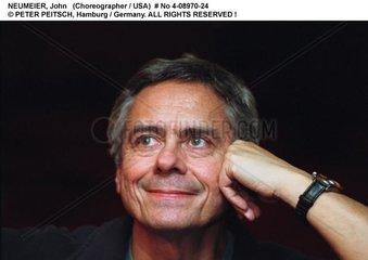 NEUMEIER  John - Portrait des Choreographen