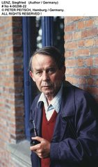 LENZ  Siegfried - Portrait des Schriftstellers