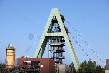 Marl  Deutschland  das Bergwerk Auguste Viktoria  Schachtanlage AV 8
