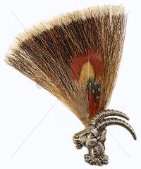 traditioneller Gamsbart  Hutschmuck  um 1974