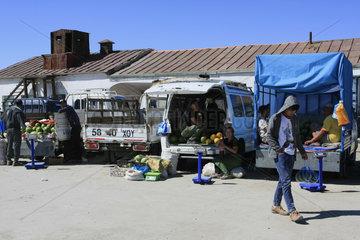 Markt in Khovd-Stadt