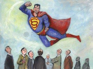 Supermann - Serie Paragraphenzeichen