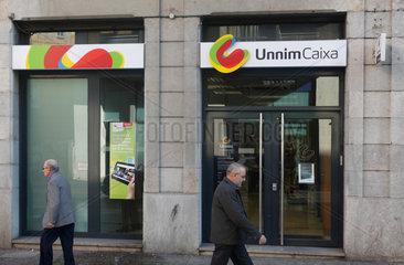 Barcelona  Spanien  Filiale der Sparkasse UnnimCaixa