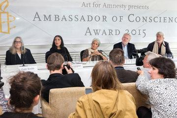 Berlin  Deutschland  Pressekonferenz der Art of Amnesty
