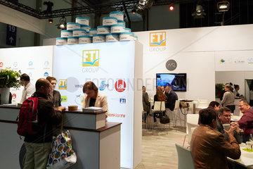 Berlin  Deutschland - Messestand der FTI Group bei der ITB.