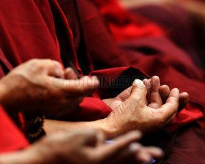 China  Panchen Lama Bainqen Erdini Qoigyijabu wird