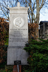 Berlin  Deutschland  Ehrengrab von August Neander