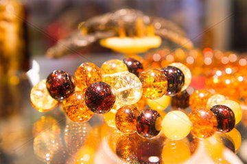 LITHUANIA-VILNIUS-JEWELRY SHOW-AMBER