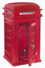 Telefon als Londoner Telefonzelle  um 1988