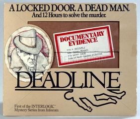 Deadline  fruehes Computerspiel von Infocom  1982