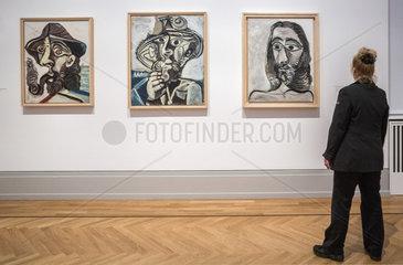 verschiedene Portraits