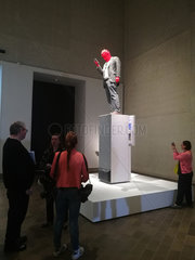AUSTRALIA-CANBERRA-NATIONAL GALLERY-WAX CANDLE SCULPTURE-UNVEILING