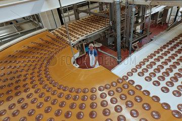 Berlin  Deutschland  Lebkuchen-Produktion bei Bahlsen Berlin