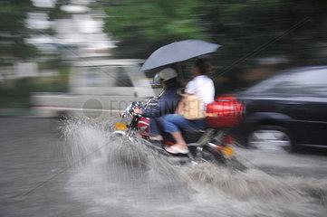China  Sommerregen