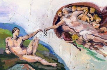 Sixtinische Kapelle - Serie Paragraph