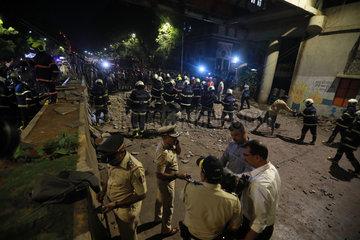 INDIA-MUMBAI-FOOTBRIDGE-COLLAPSE