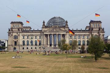 Berlin  Deutschland  das Reichstagsgebaeude